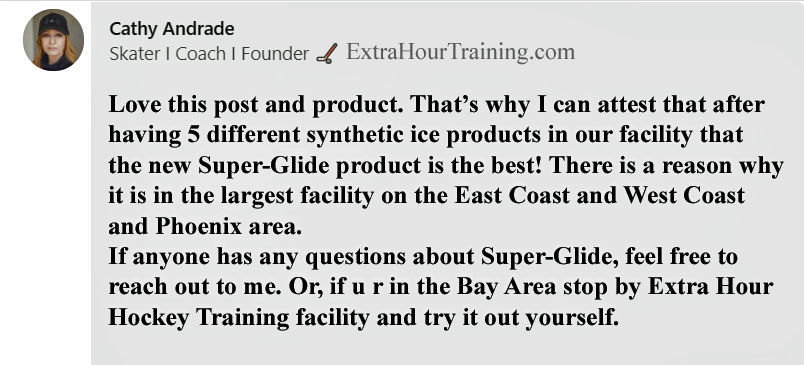 Super-Glide synthetic ice review. Best synthetic ice